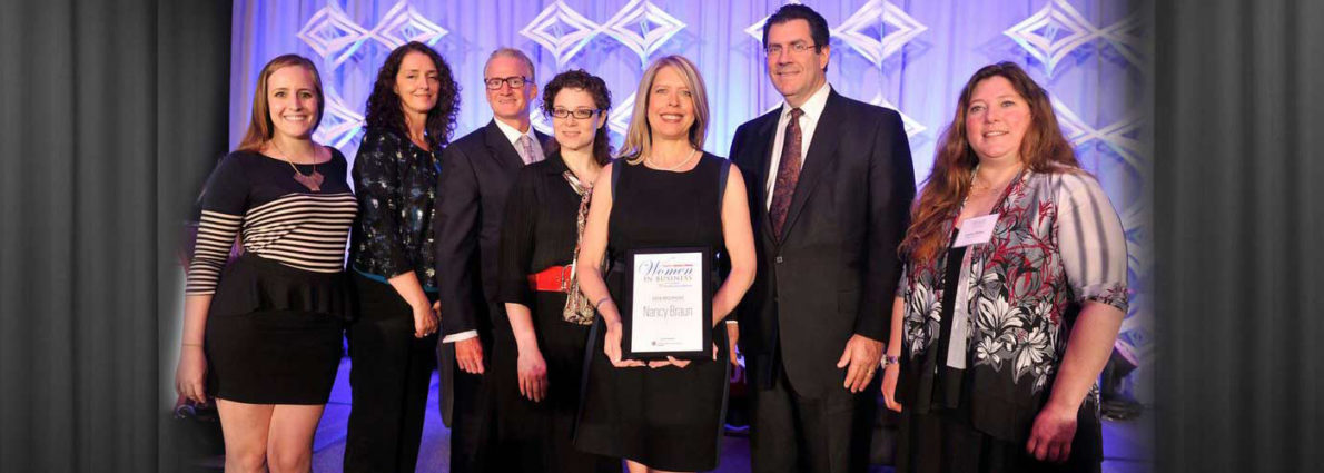 Nancy Braun Honored with Women in Business Achievement Award