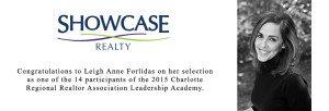 Showcase Realty Congratulates Broker Leigh Anne Forlidas