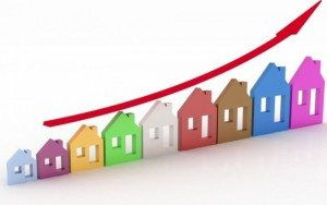 home price up