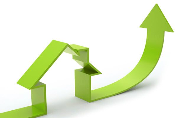 Home Sales price up