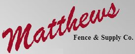 Matthews Fence Company