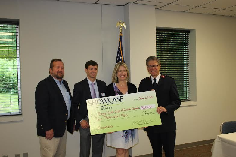 Showcase Realty Makes a $10,000 Donation to Boys and Girls Clubs of Charlotte