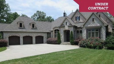 Under Contract : Executive French Country Waterfront Foreclosure Home