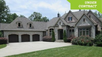Executive French Country Waterfront Foreclosure Home for Sale, home for sale
