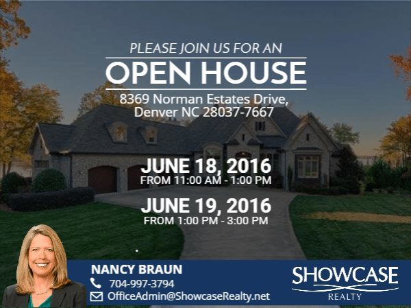 8369 Norman Estates Drive, Denver NC 28037-7667
