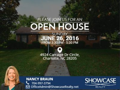 4924 Carriage Drive Circle, Charlotte NC 28205
