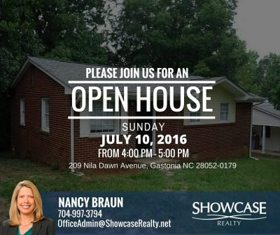 Open House, Home For Rent, Open House Sunday, Home For Rent in Gastonia, Home For Lease in Gastonia, Home For Lease