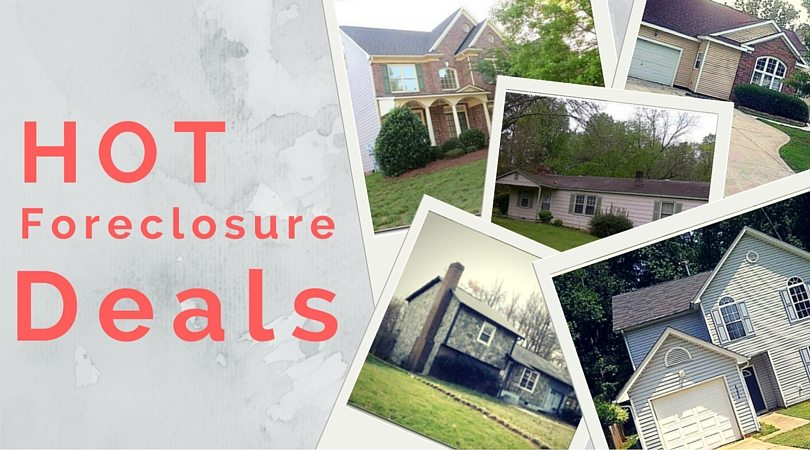 Red Hot Deals on Foreclosure Homes!