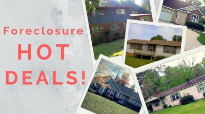 Hot on the Market! Foreclosure Homes for Sale!