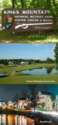 McAdenville Cramer Mountain Country Club Kings Mountain