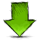 arrow down png