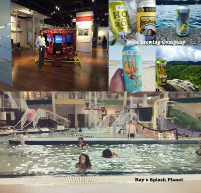 charlotte activities, Noda Brewing Company, Ray's Splash Planet, Wells Fargo History Museum, Condo for Sale with Large Patio and Spacious Rooms