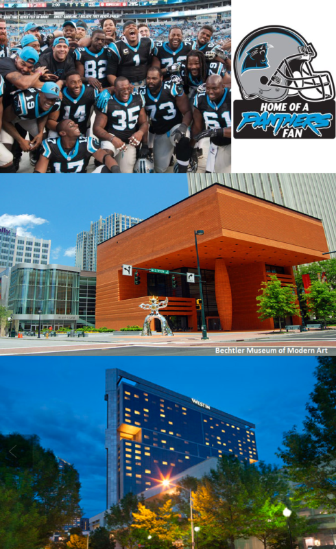 Bechtler Museum of Modern Art, Carolina Panthers, home for sale