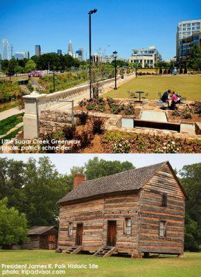 President James K. Polk Historic Site, Little Sugar Creek Greenway, 2714 Kirkholm Drive Matthews NC 28105