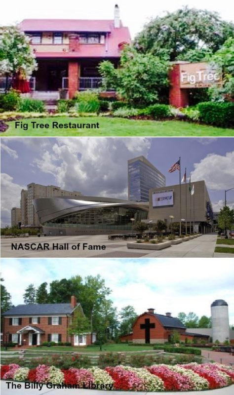 Freedom Park, Hendrick Motorsports Museum, Historic Rosedale Plantation, home for sale