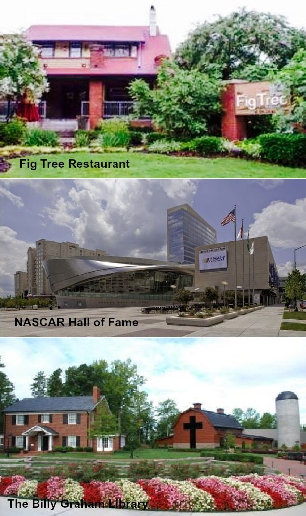 10102 Old Carolina Drive Charlotte NC 28214,Fig Tree Restaurant,The Billy Graham Library,NASCAR Hall of Fame, home for sale