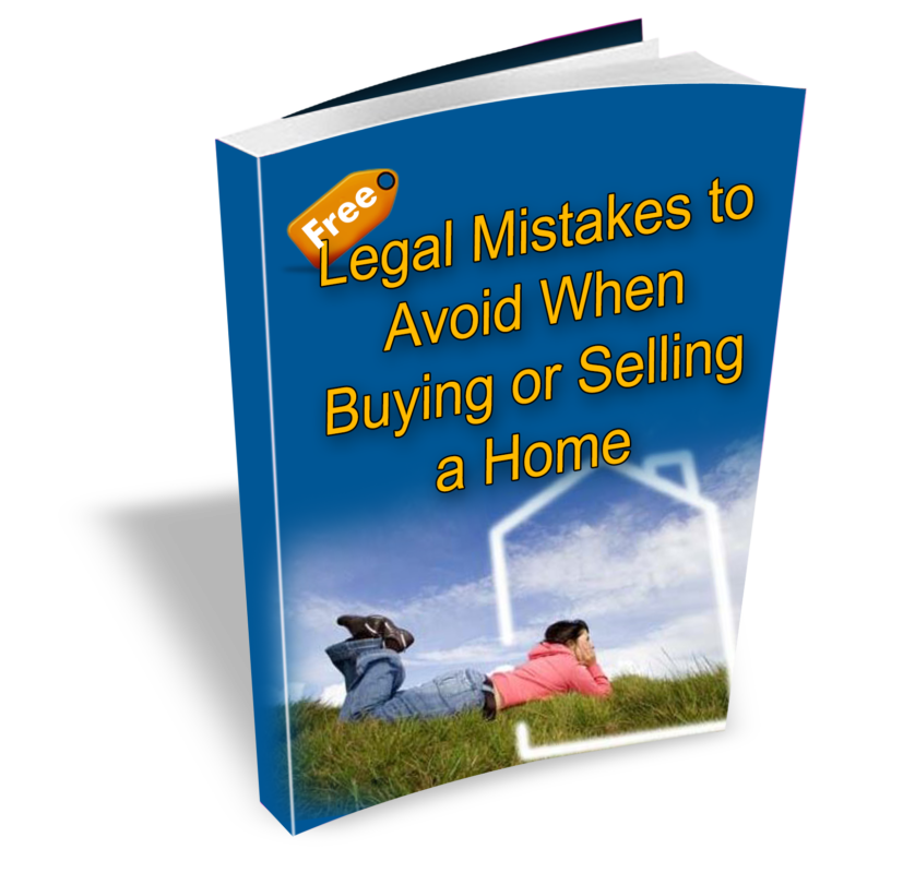 Legal Mistakes when buying or selling a home