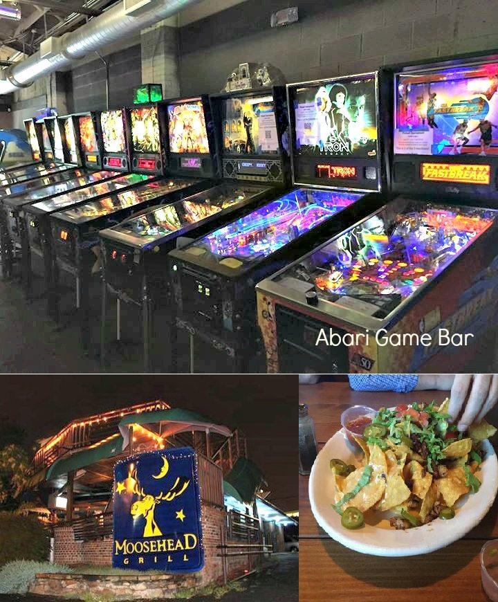 Moosehead Grill, Abari Game Bar, home for sale