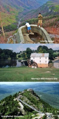 Murrays Mill Historic Site, Grandfather Mountain,Linville Gorge