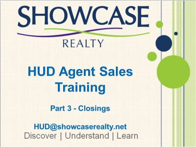 hud agent sales training part3