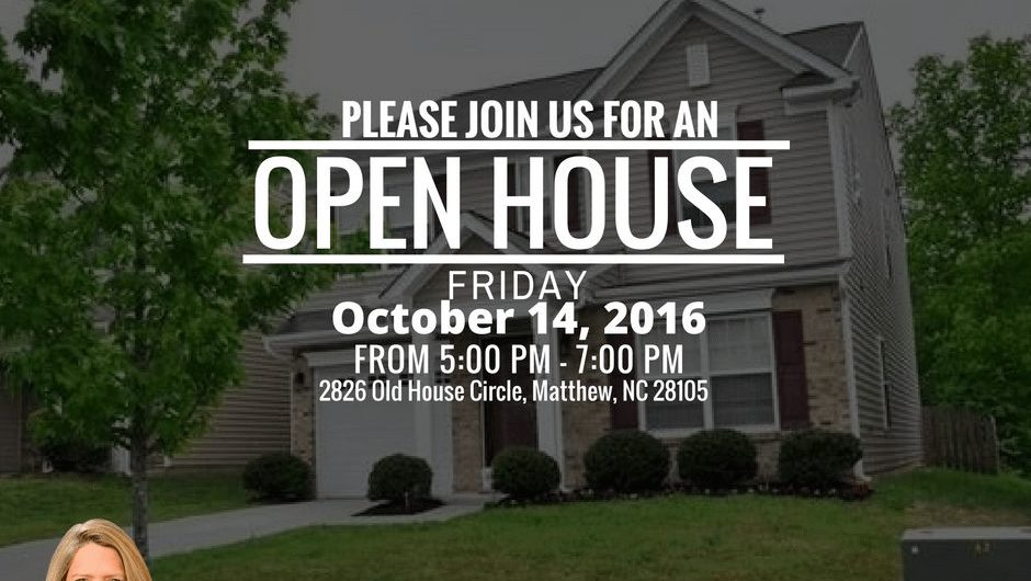 home for rent,open house, 2826 Old House Circle Matthew NC 28105