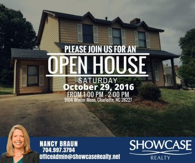 9104 Winter Moss Charlotte NC 28227, home for rent,open house