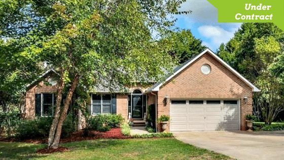 113 Walking Horse Run Stanley NC 28164, Beautifully Updated Brick Home for Sale with Large and Private Lot