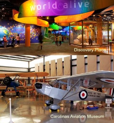 Home for Sale, 2807 Barcan Court Charlotte NC 28210, Carolinas Aviation Museum, Discovery Place
