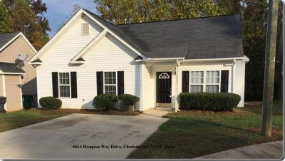 Home for rent 6614 Hampton Way Dr Charlotte NC 28213