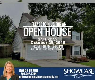 532 Red Oak Court Tega Cay SC 29708, open house, homes for rent in South Carolina