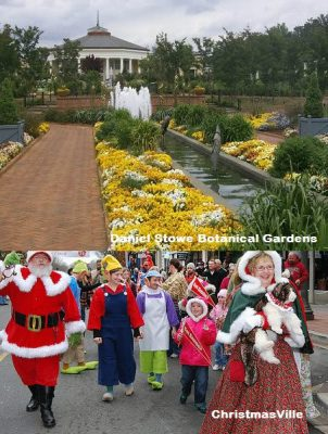2645 Rachel Street Charlotte NC 28206, home for sale in Charlotte NC,Daniel Stowe Botanical Gardens,ChristmasVille
