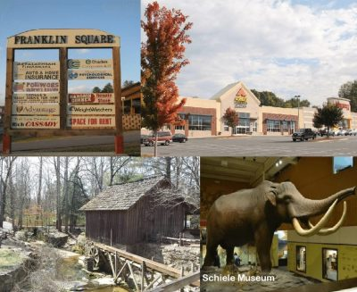 Franklin Square Shopping Center, Schiele Museum, 209 Nila Dawn Avenue Gastonia NC 2805, home for rent in Gastonia NC