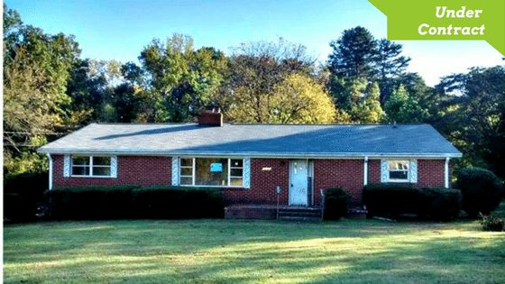 Brick Ranch Home for Sale in Charlotte NC