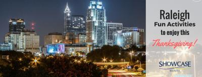 Raleigh Fun Activities to Enjoy this Thanksgiving 2016