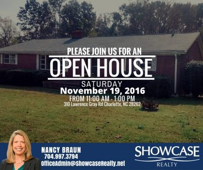 310 Lawrence Gray Rd Charlotte NC 28262, homes for sale in Charlotte NC, open house