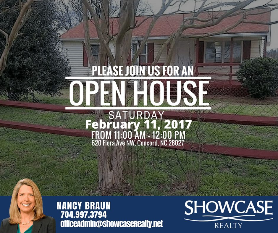Open House, 620 Flora Ave NW Concord NC 28027 ,home for rent in Concord NC, Concord NC, North Carolina, Home Rental Search, Investment, Showcase Realty, NC Realtors