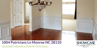 Homes in Monroe NC