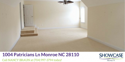 Homes for Sale in Monroe NC
