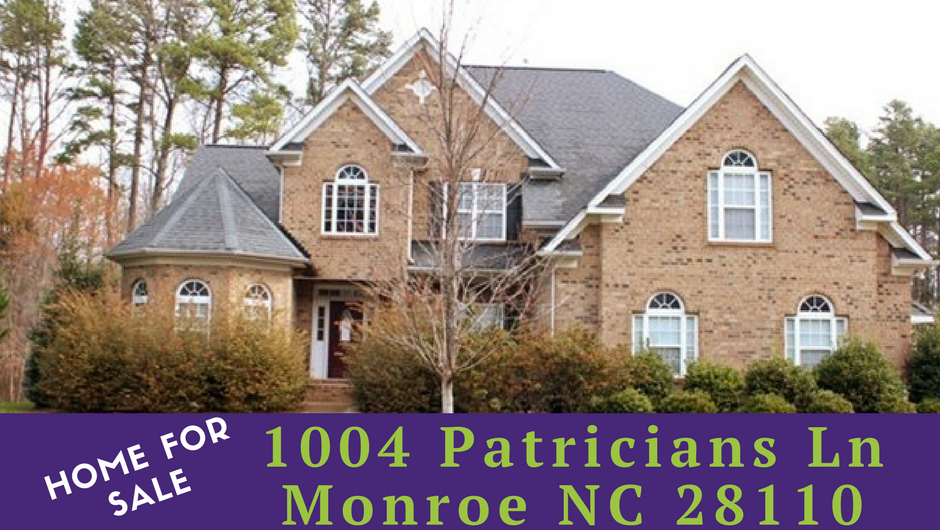 1004 patricians ln monroe nc 28110 home for sale for 2 story homes for sale