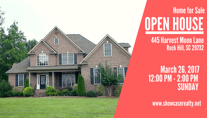 Open house 445 harvest moon ln rock hill sc 29732 Home builders in rock hill sc