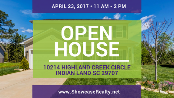 OPEN HOUSE: 10214 Highland Creek Circle, Indian Land SC 29707 | Home for Sale