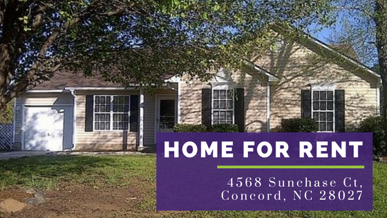 Concord NC Homes for Rent
