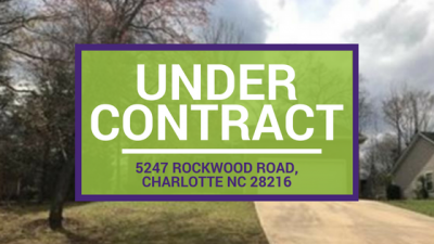 UNDER CONTRACT: 5247 Rockwood Road, Charlotte NC 28216