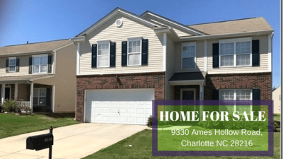 Home for Sale in Charlotte NC