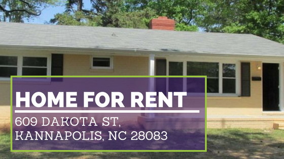 Real Estate Properties for Rent in Kannapolis NC
