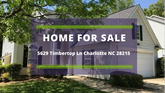 5629 Timbertop Ln Charlotte NC 28215 – Be the proud owner of