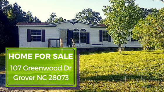 Grover NC Home for Sale