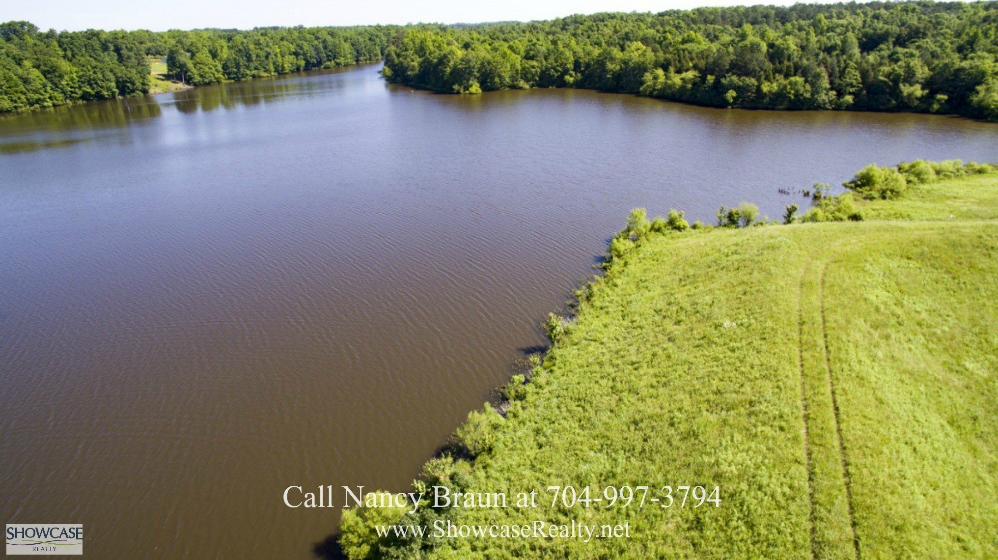 South Carolina Private Lake on Acreage for Sale