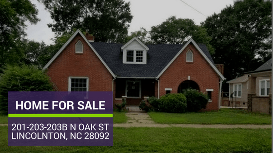 LINCOLNTON NC 28092 HOME FOR SALE