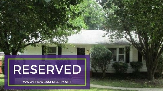 RESERVED: 2433 Ashley Road Charlotte NC 28208
